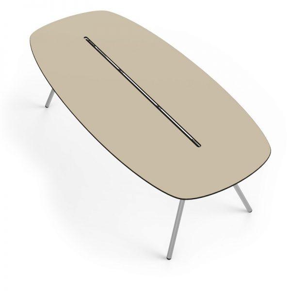 moderne design tafel | van de wetering | werkplekregisseur